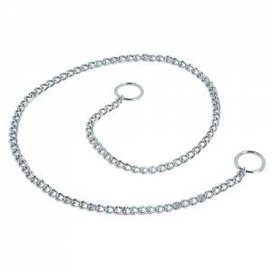 Collier étrangleur simple chromé Herm. Sprenger