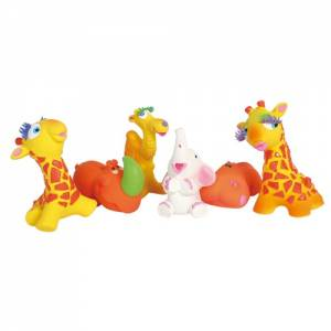 "Lot de 24 jouets Latex ""Savane"""