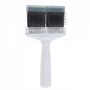 Brosse Activet medium - double paillettes vertes