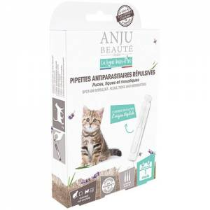 Pipettes antiparasitaires chatons