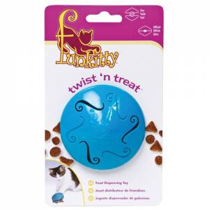 Distributeur de nourriture Twist'N Treat Chat