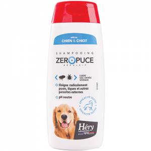 Shampooing Zero Puce Hery chien/chiot