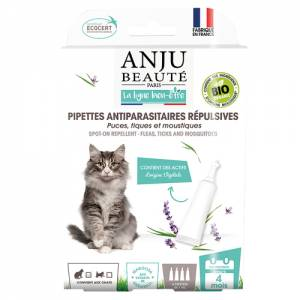 Pipettes antiparasitaires chats
