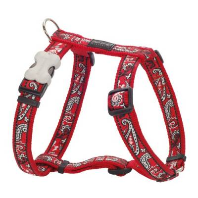 Harnais rouge bandana Red Dingo Fantaisie
