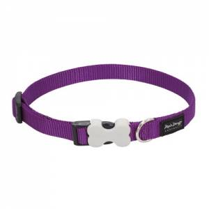 Collier réglable Red Dingo Basic violet