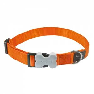 Collier réglable Red Dingo Basic orange