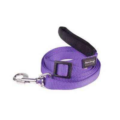 Laisse réglable Red Dingo Basic violette