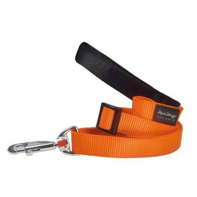 Laisse réglable Red Dingo Basic orange