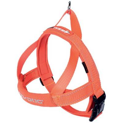 Harnais Ezydog Quick Fit orange