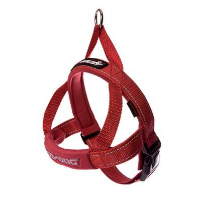 Harnais Ezydog Quick Fit rouge