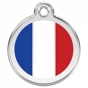 "Médaille Red Dingo rose ""France"""