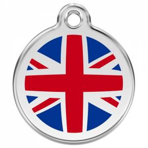 "Médaille Red Dingo rose ""United Kingdom"""