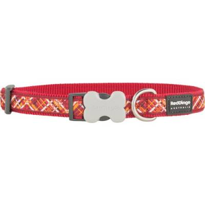 Collier Red Dingo Fantaisie Flanno Rouge