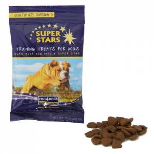 Friandise d'éducation Fish4dogs Super Star