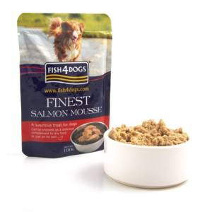 Friandise Fish4dogs Finest Mousse Chien