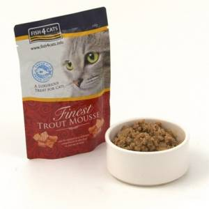 Friandise Fish4dogs Finest Mousse Chat