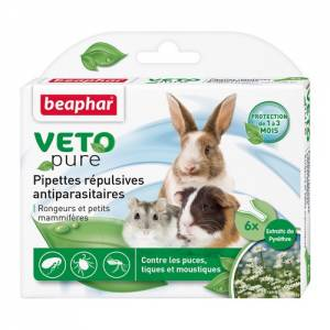 Pipettes insectifuges pour rongeurs