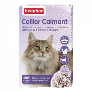 Colliers calmants à base de valériane pour chat