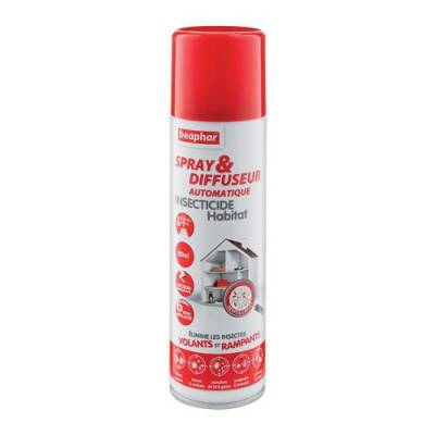 Spray & Diffuseur automatique insecticide Habitat 250ml