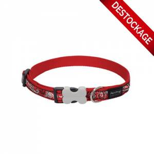 Collier rouge bandana Red Dingo Fantaisie