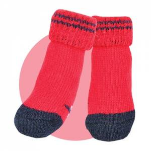 Chaussettes Puppia Rouge