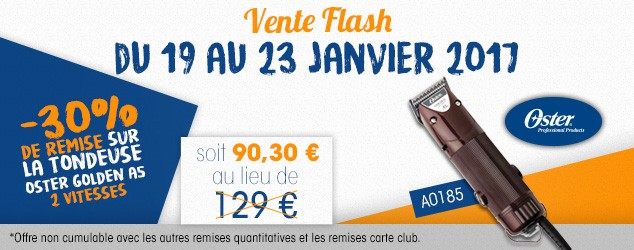 VENTE FLASH TONDEUSE OSTER